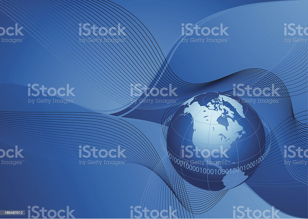 High tech background . royalty-free stock vector art