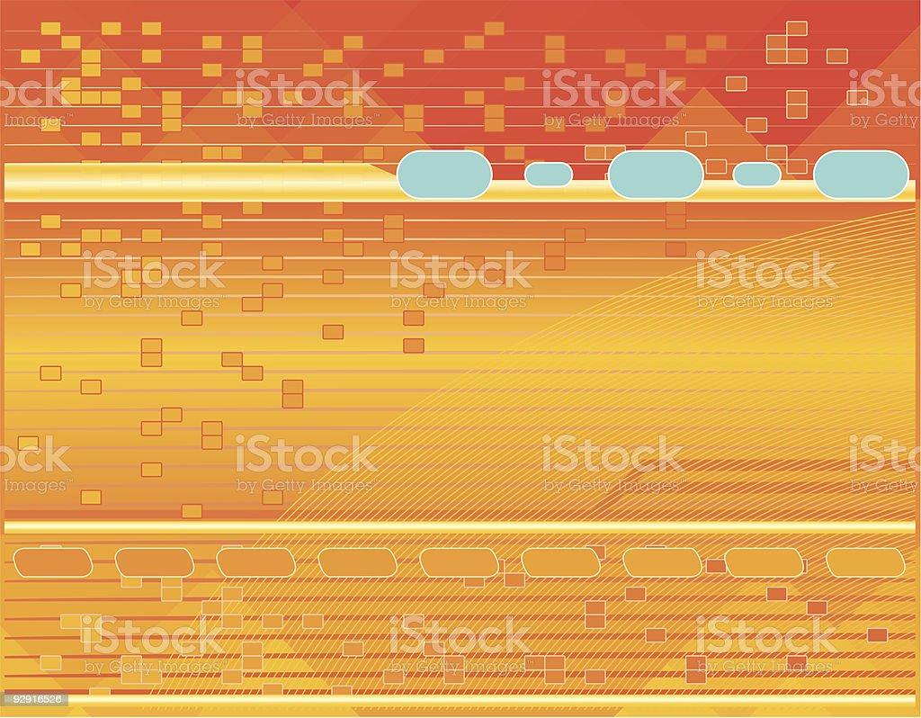 High Tech Background (vector & jpeg) vector art illustration