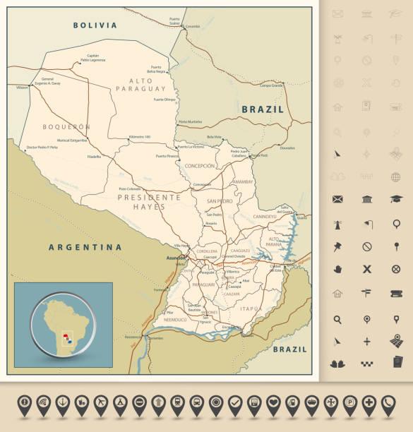 Itaipu Dam Map