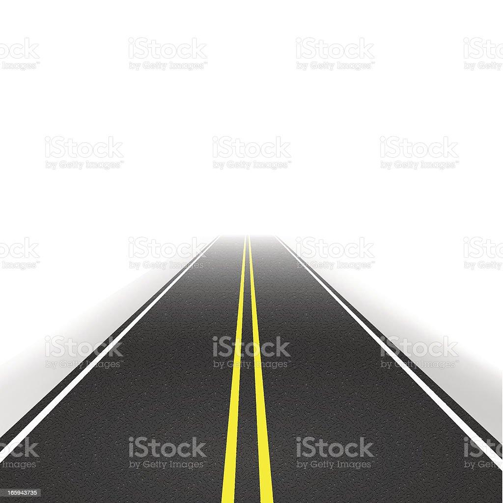 Highway vector art illustration