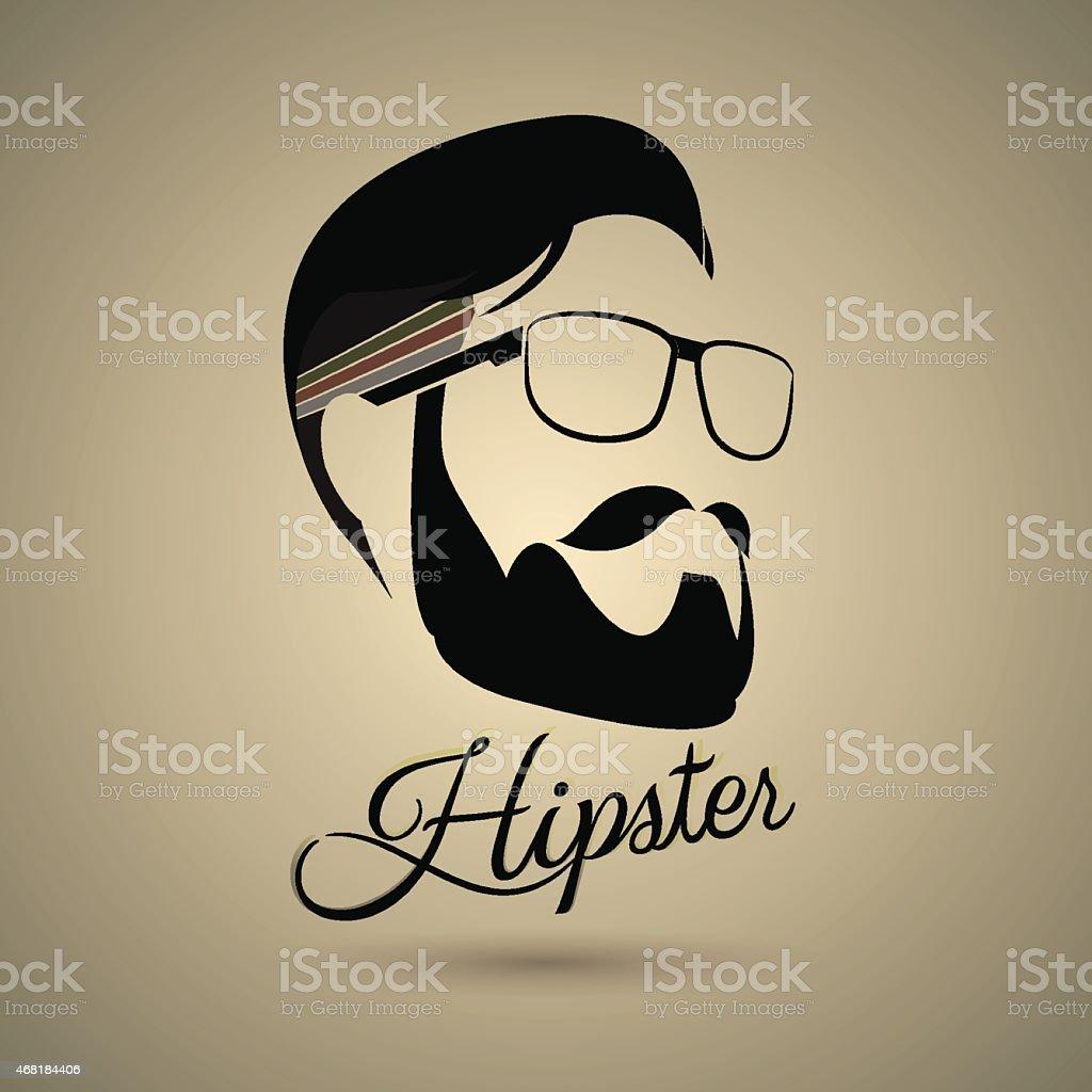 Hipster symbol style vector art illustration