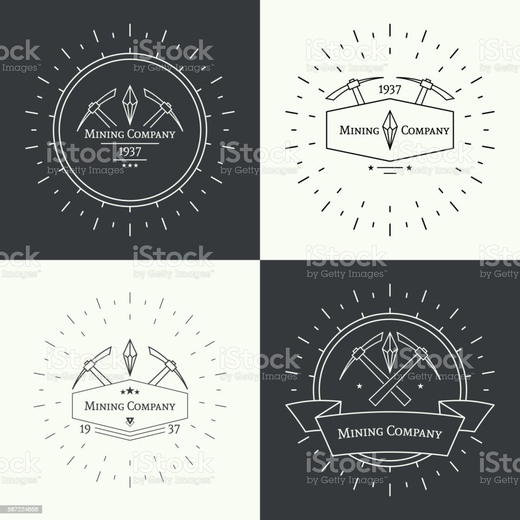 Hipster vintage banner. vector art illustration