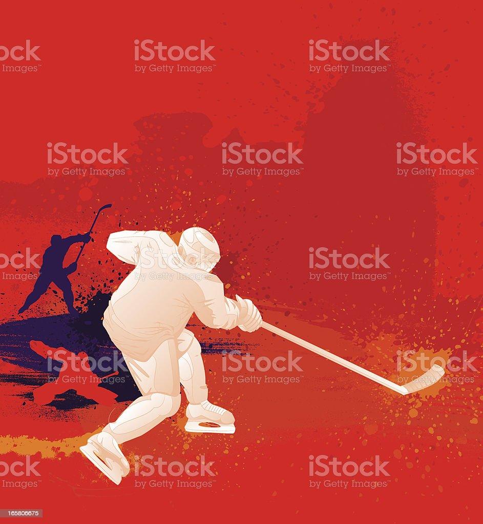 Hockey Design royalty-free stock vector art