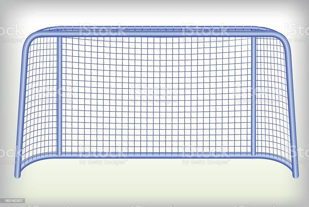 Hockey goal. royalty-free stock vector art