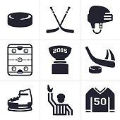 Hockey Icons and Symbols