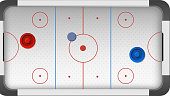 Hockey Rink Field Pitch Ground