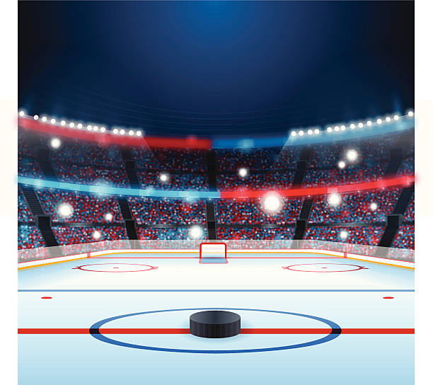 Ice Hockey Stadium Clip Art, Vector Images & Illustrations - iStock