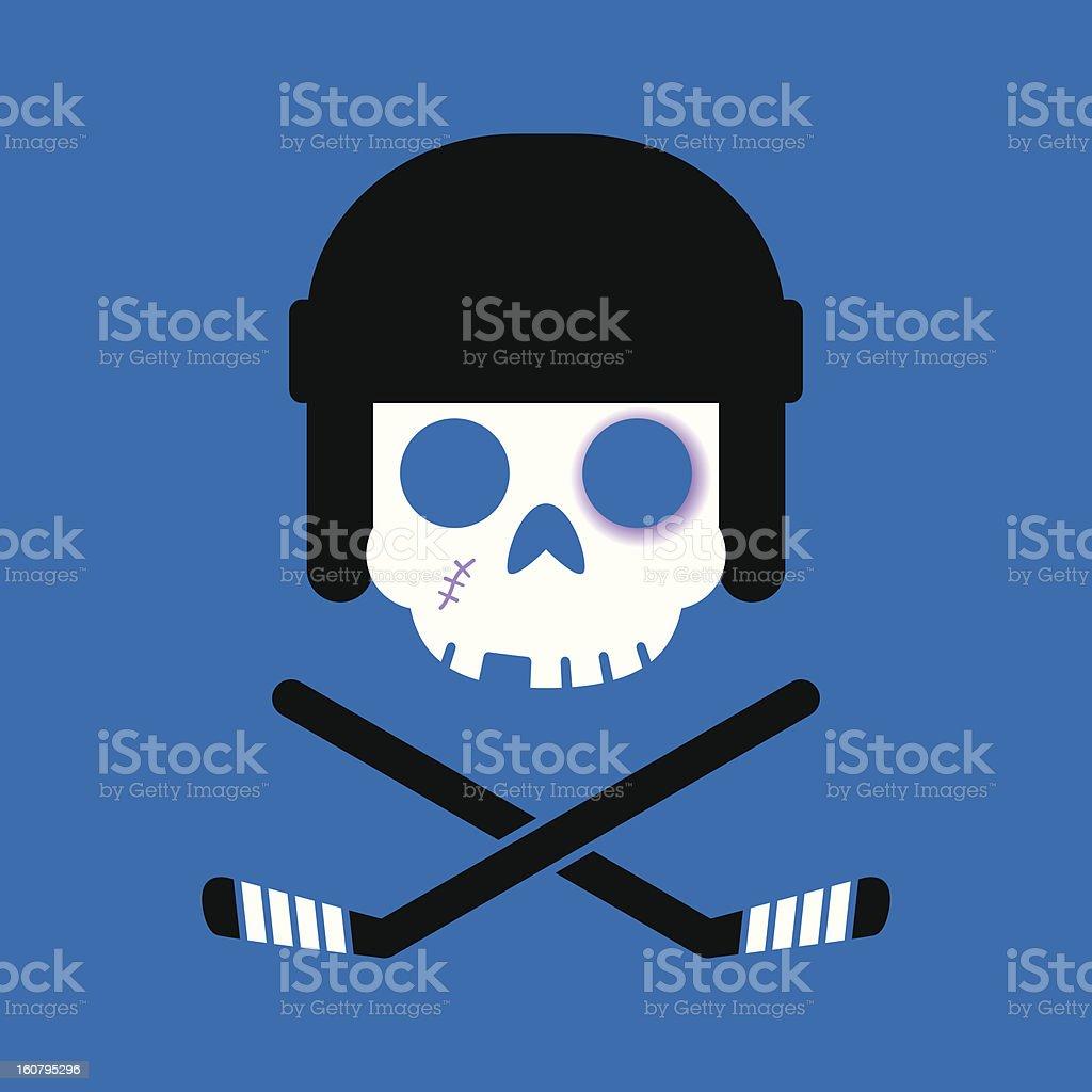 Hockey Roger stock photo
