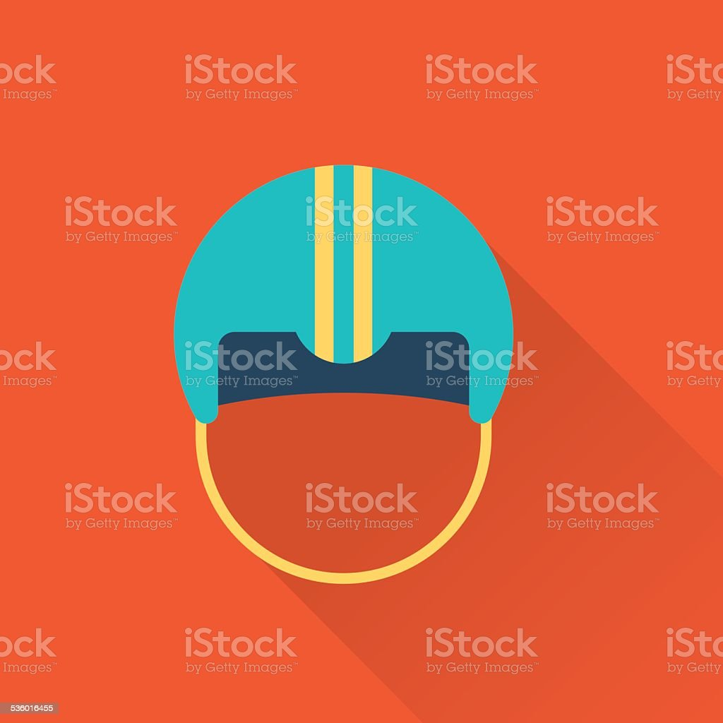 hockey sport icon vector art illustration