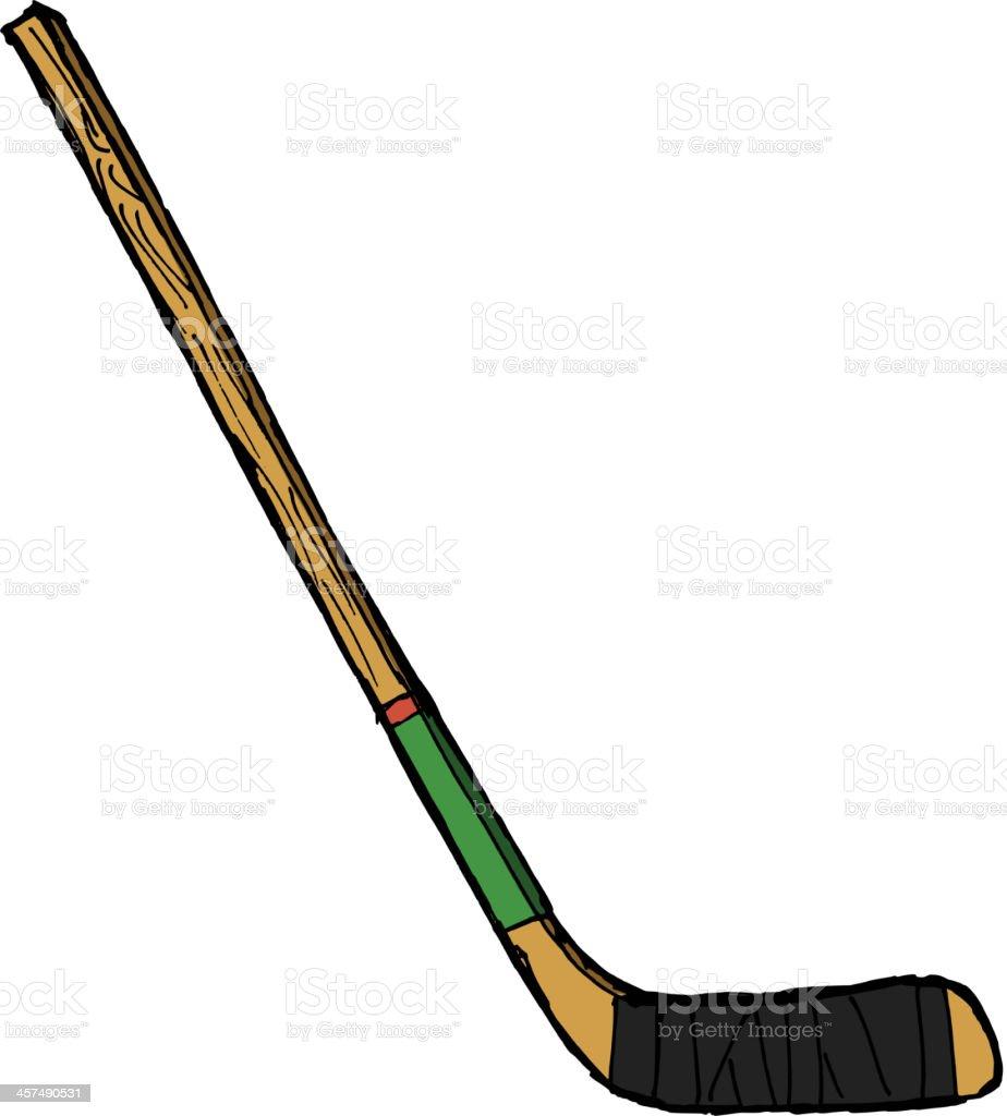 hockey stick royalty-free stock vector art