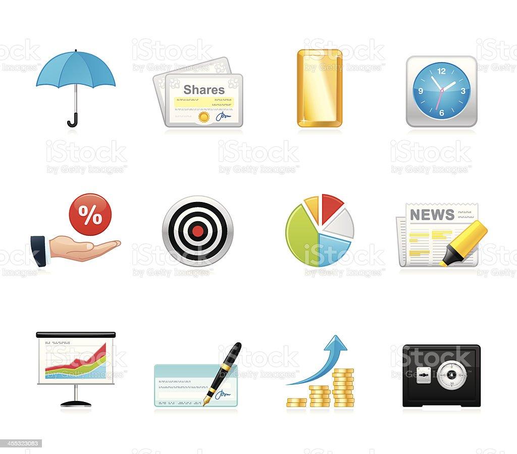 Hola icons - Finance royalty-free stock vector art