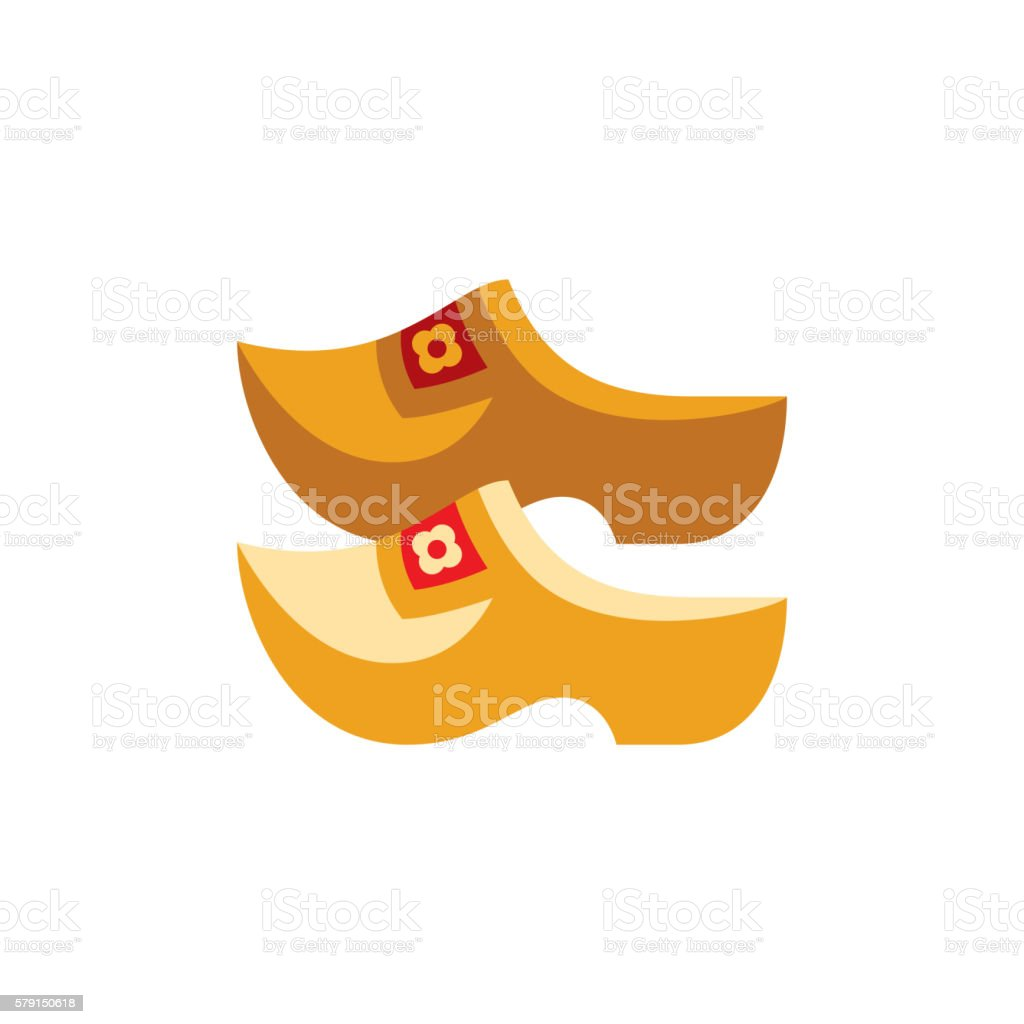 Holandaise Clasps Simplified Icon vector art illustration