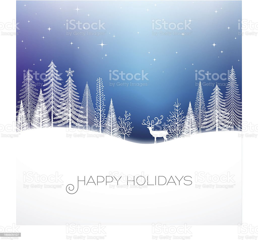 Holiday Background vector art illustration