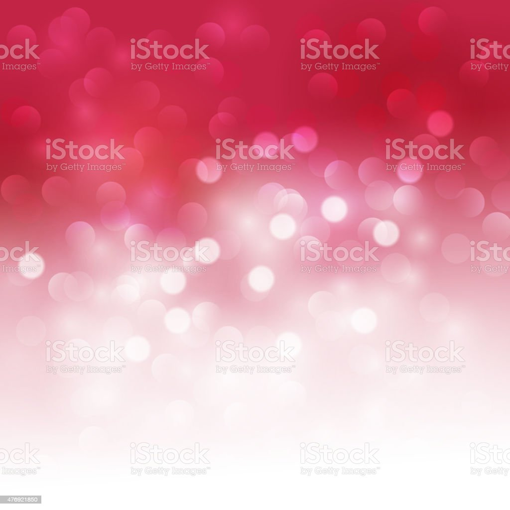 Holiday bokeh. Abstract Christmas background vector art illustration