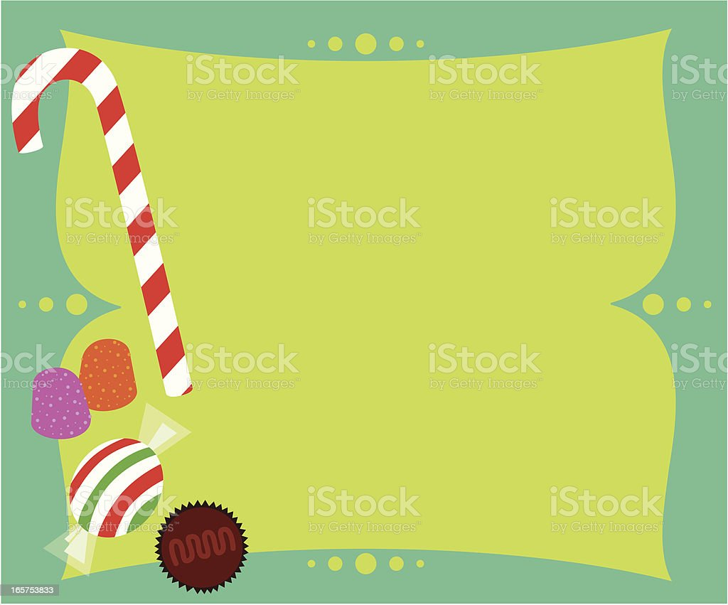 Holiday Candy royalty-free stock vector art