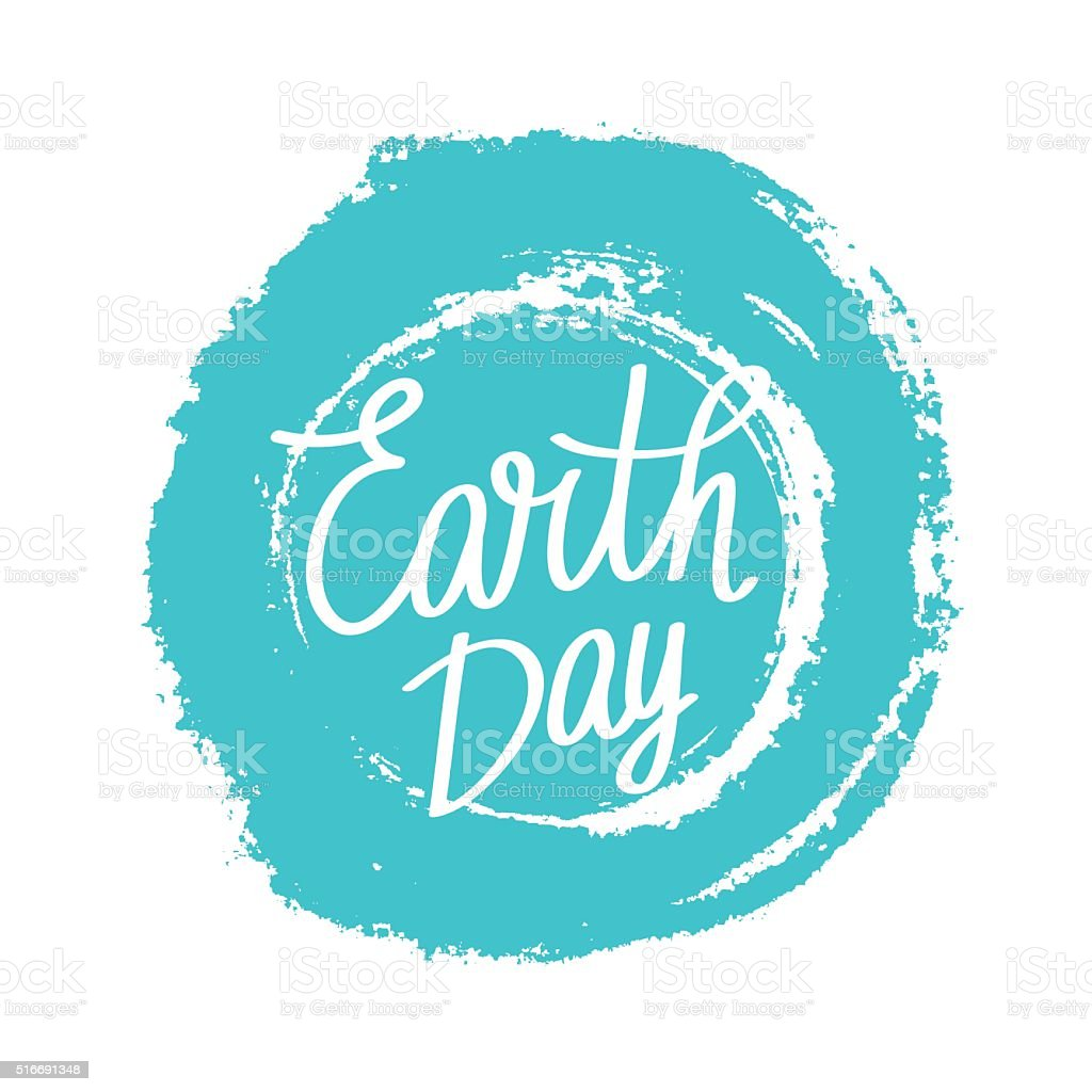 Holiday 'Day of the Earth.' vector art illustration
