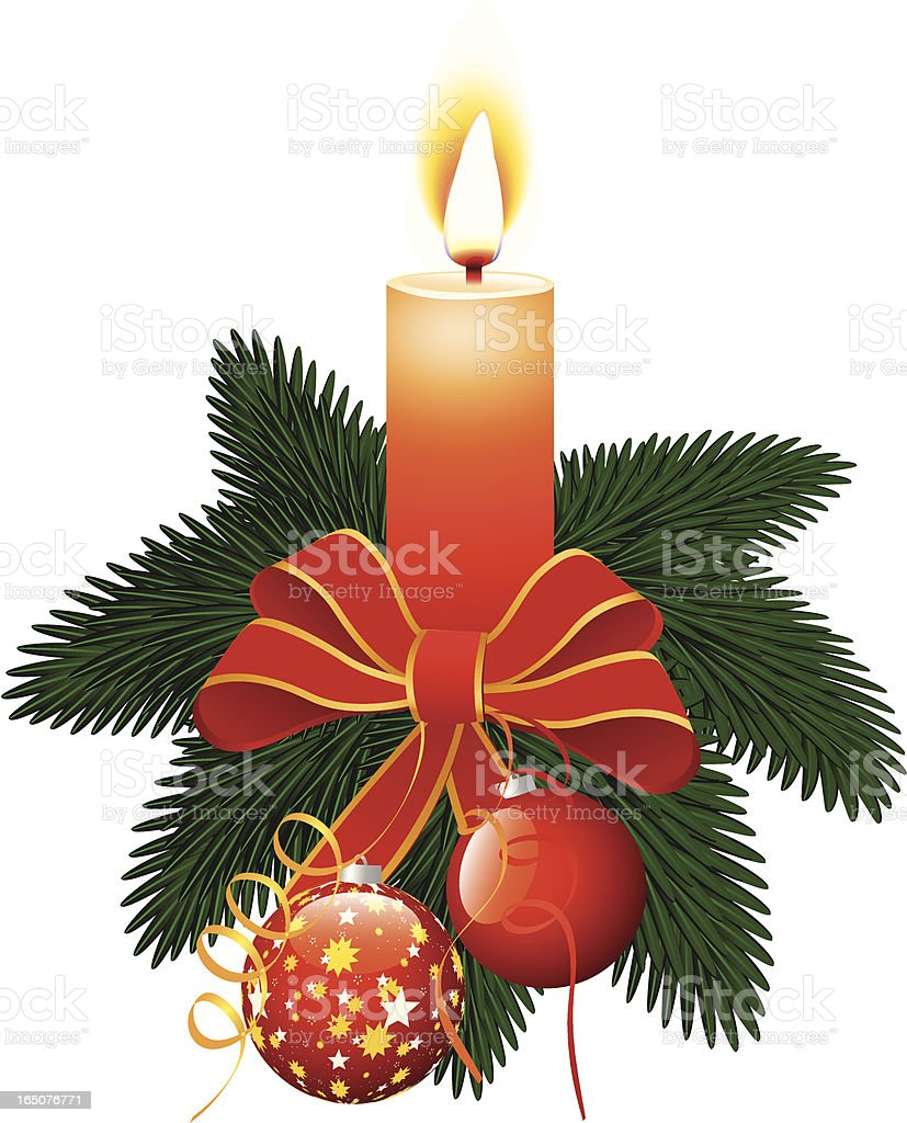 Holiday decorative composition royalty-free stock vector art