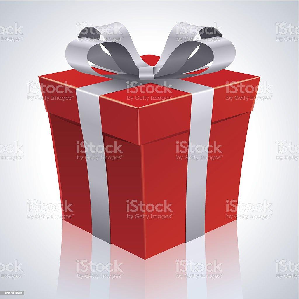 Holiday Gift royalty-free stock vector art
