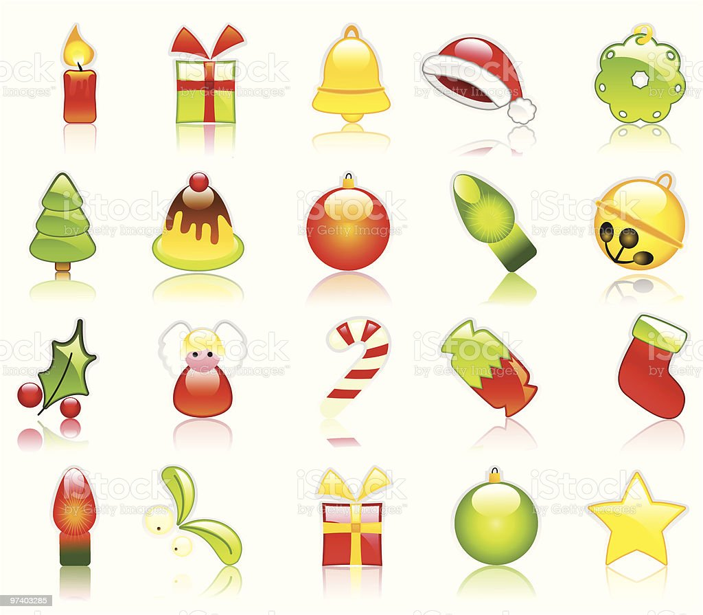 Holiday goodies royalty-free stock vector art