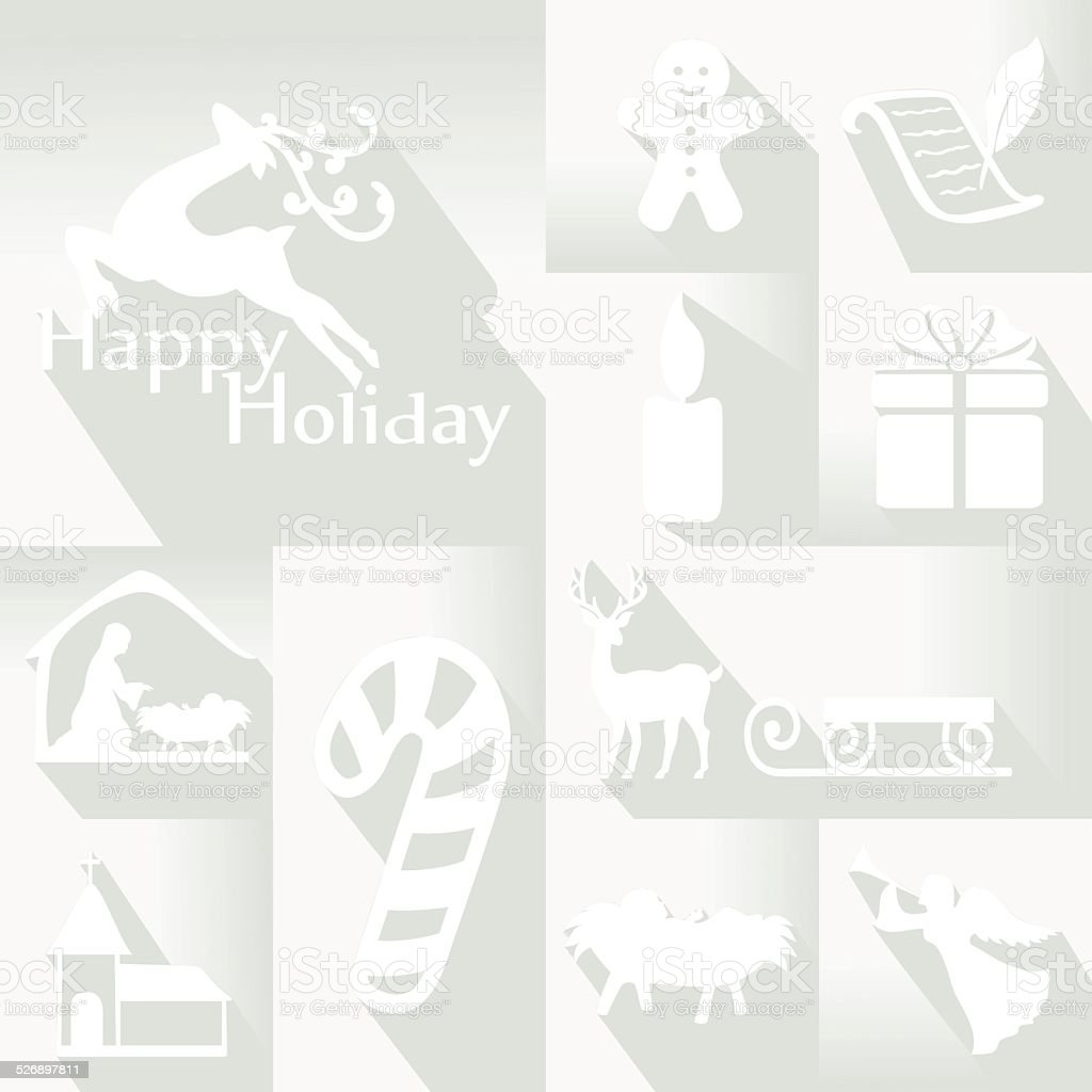 Holiday Icon vector art illustration
