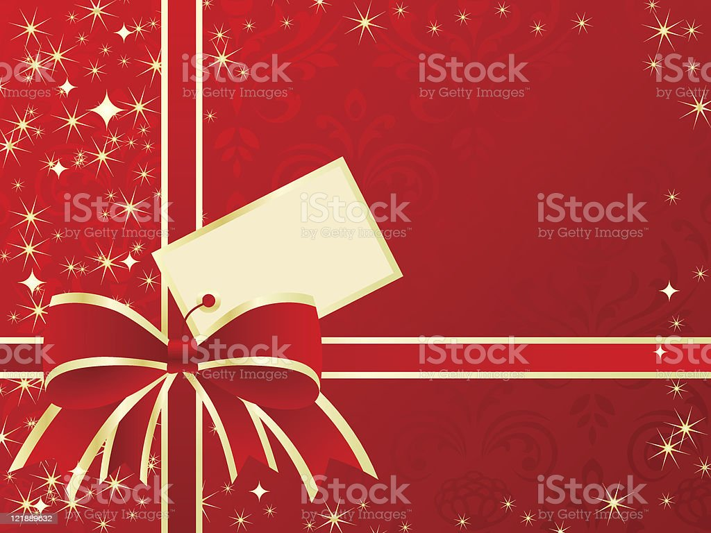 Holiday present background. royalty-free stock vector art
