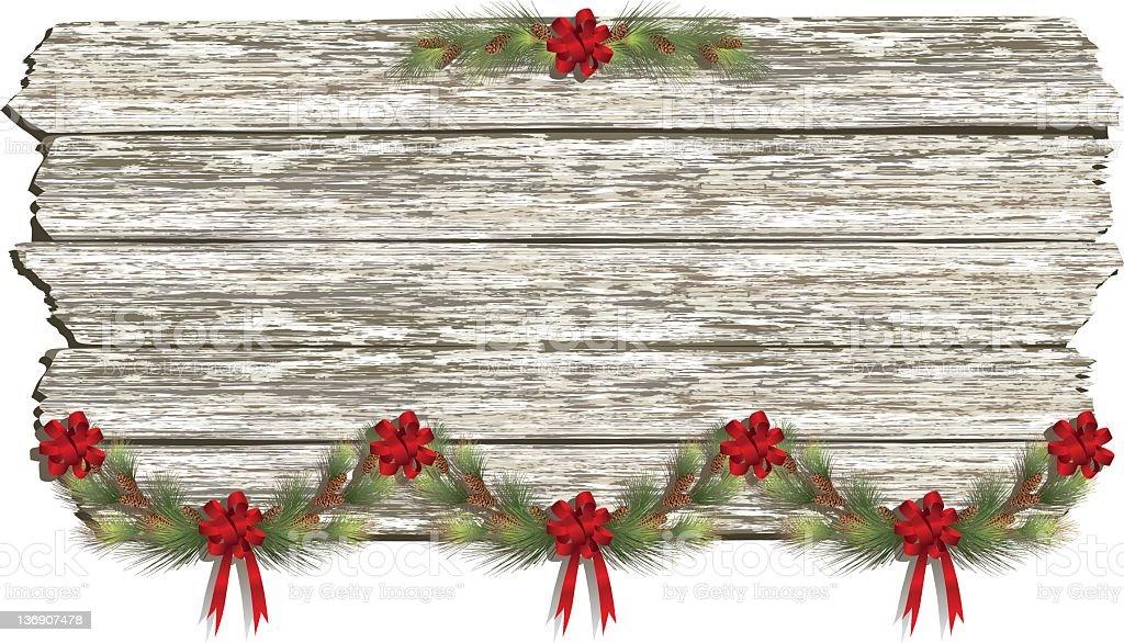 Holiday Sign stock photo