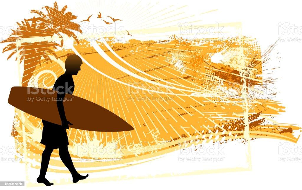 holiday silhouette vector art illustration