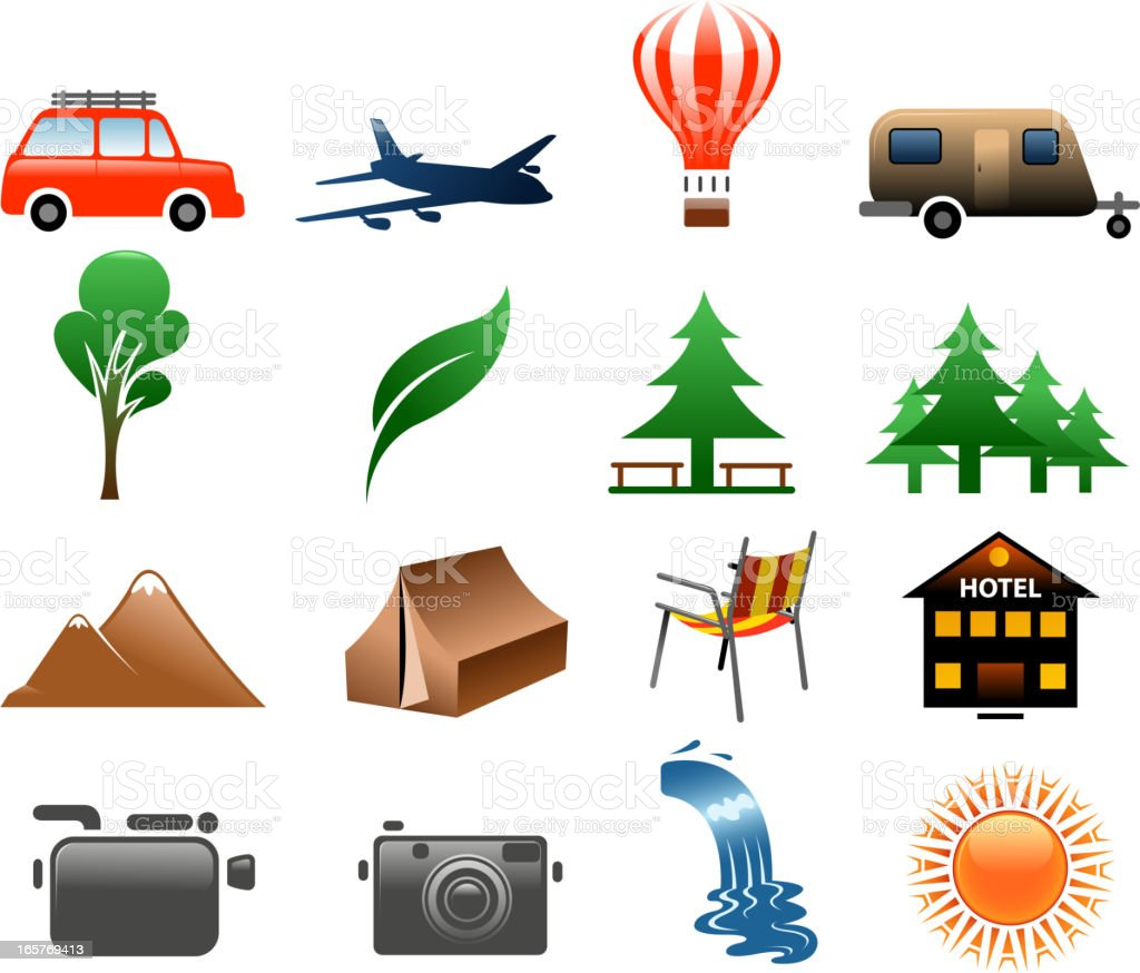 holiday symbols royalty-free stock vector art