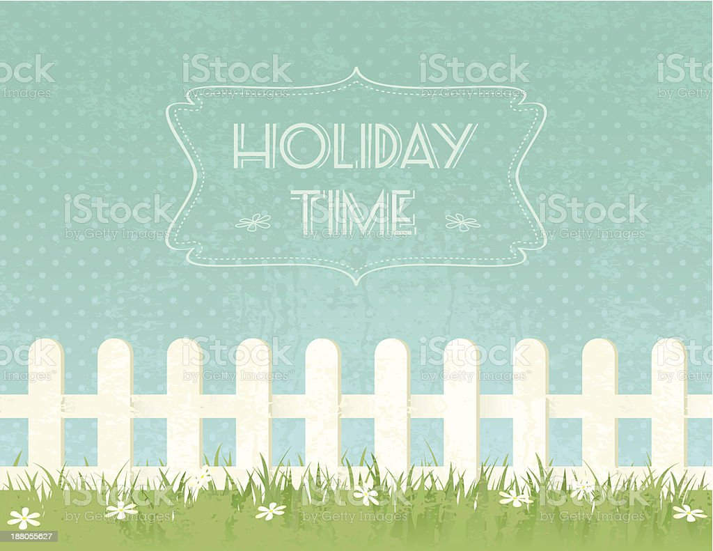 Holiday Time royalty-free stock vector art