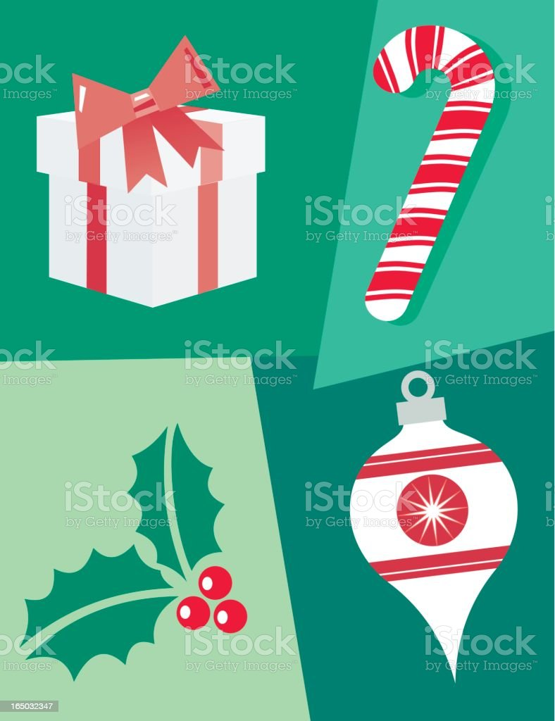 Holidays : Christmas 2 royalty-free stock vector art