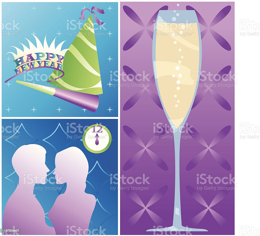Holidays - New Year royalty-free stock vector art
