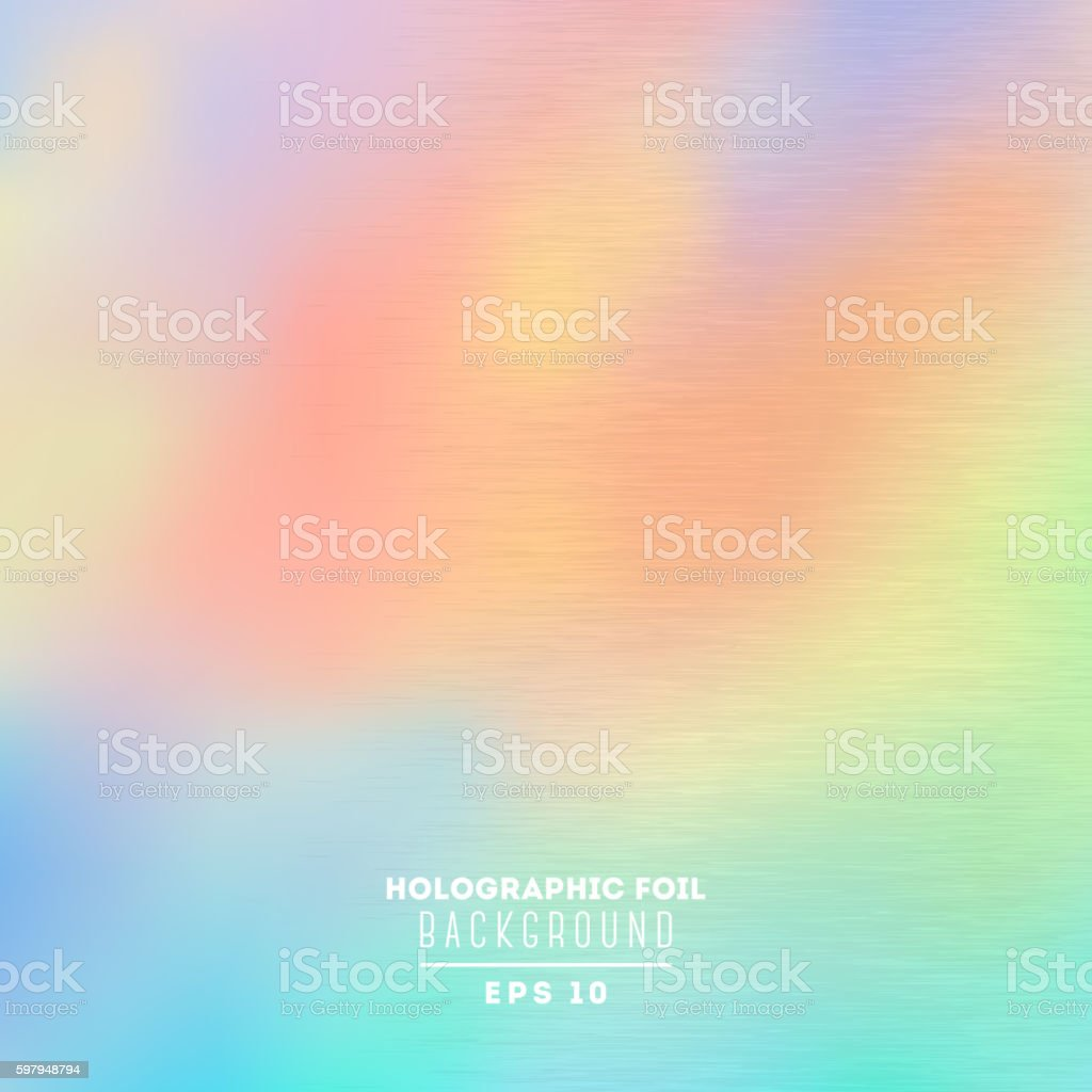 Holographic foil vector illustration vector art illustration