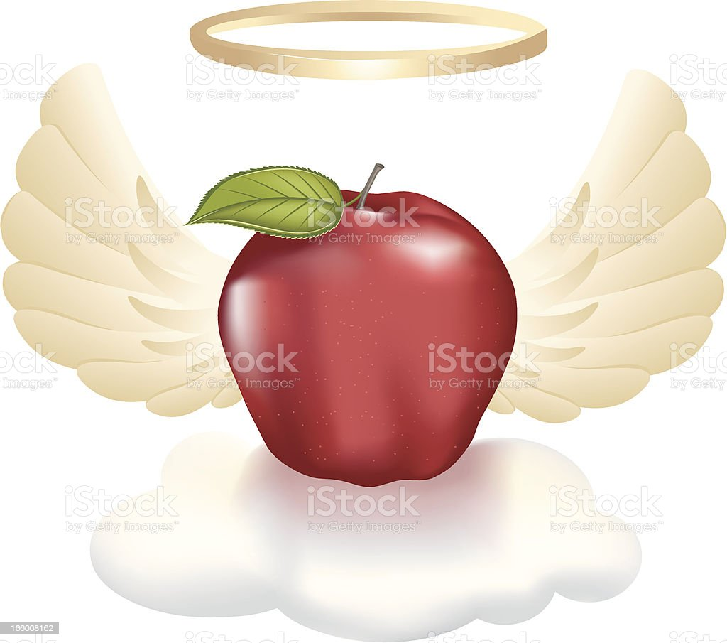Holy Apple royalty-free stock vector art