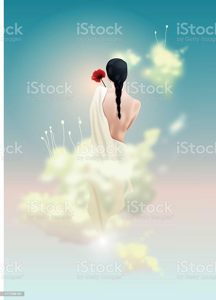holy beauty royalty-free stock vector art