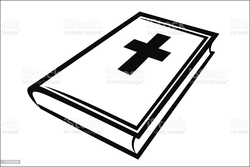 Holy bible royalty-free stock vector art