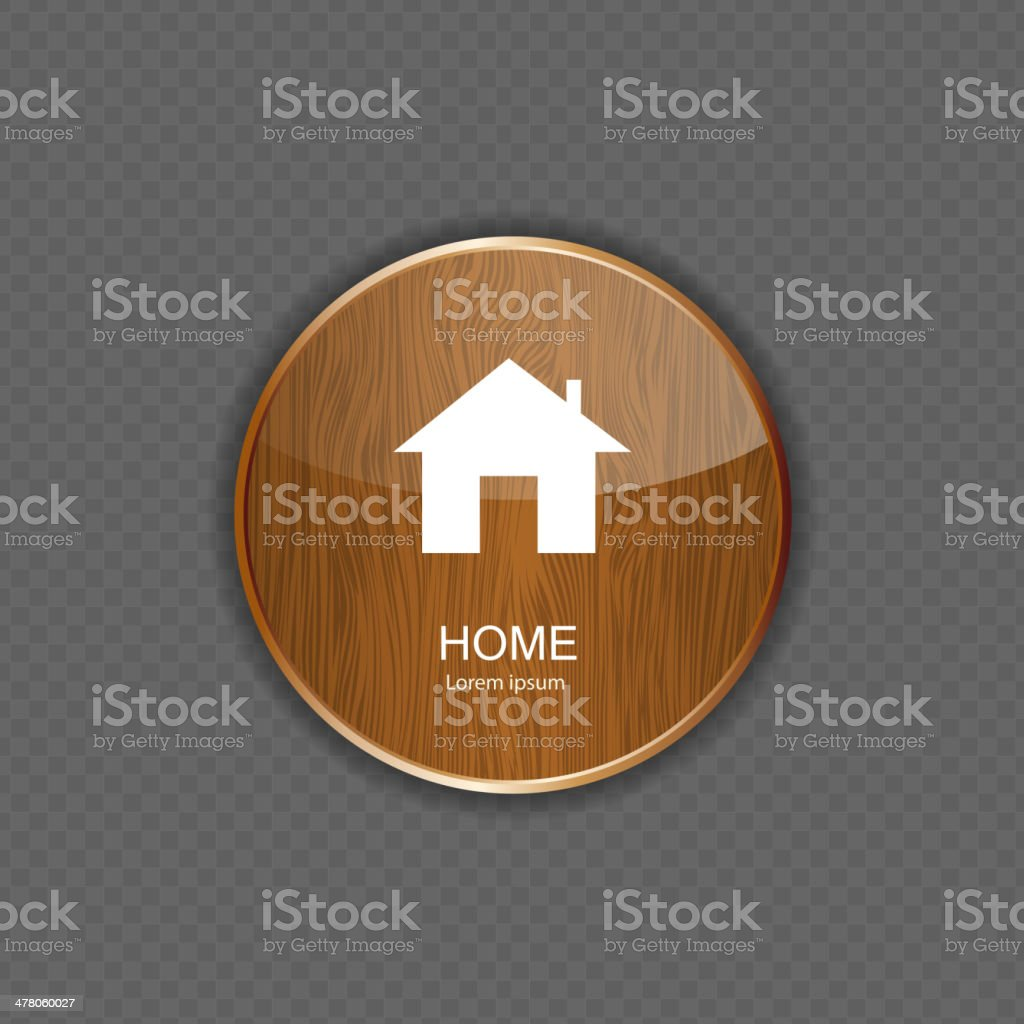 Home application icons royalty-free stock vector art