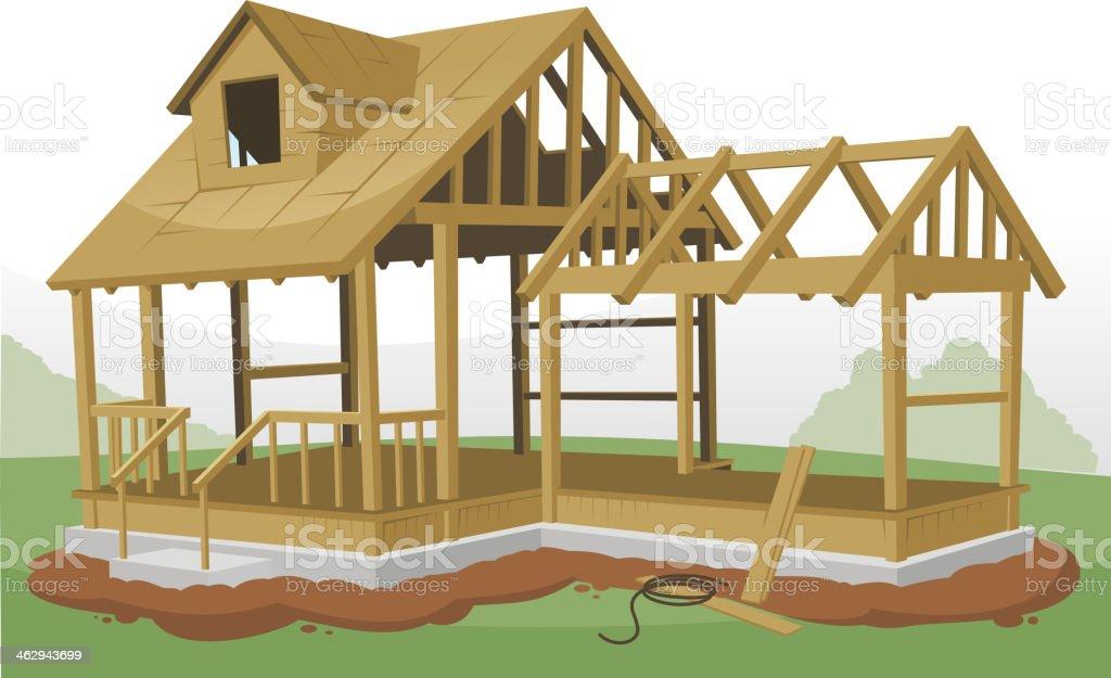 Haus baustelle clipart  Baustelle Haus Vektorgrafiken und Illustrationen - iStock