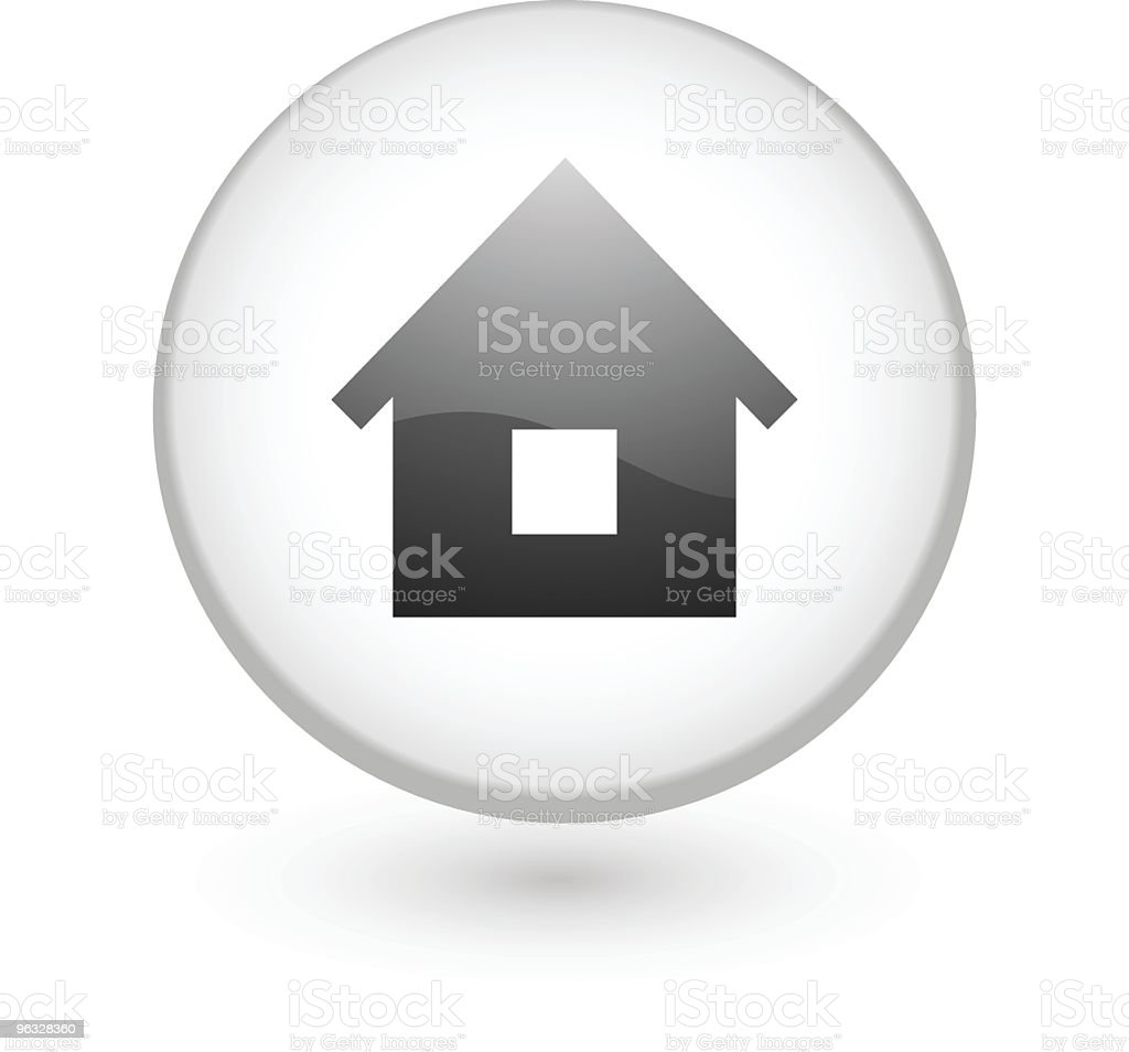 Home, house vector icon royalty-free stock vector art