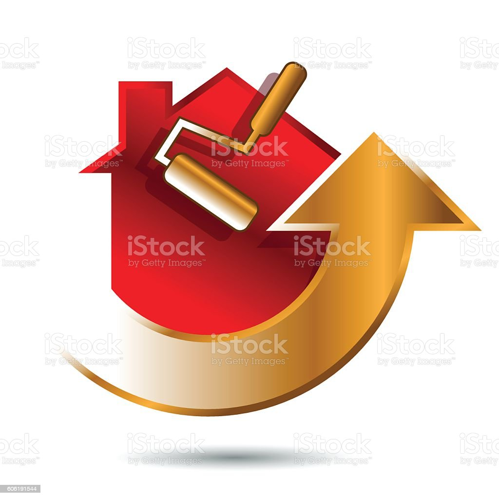 Home Renovation vector art illustration