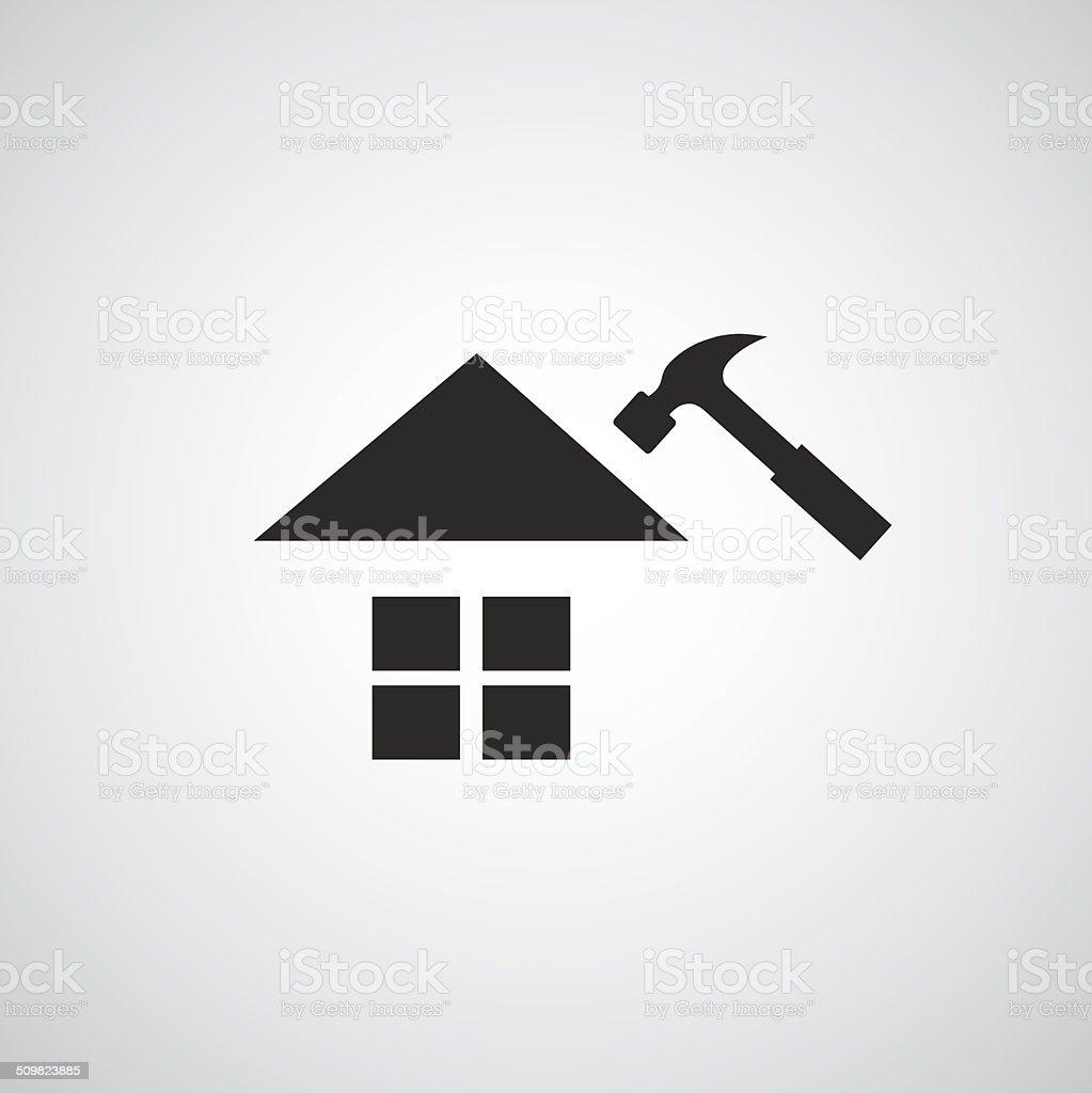 Home repair symbol vector art illustration