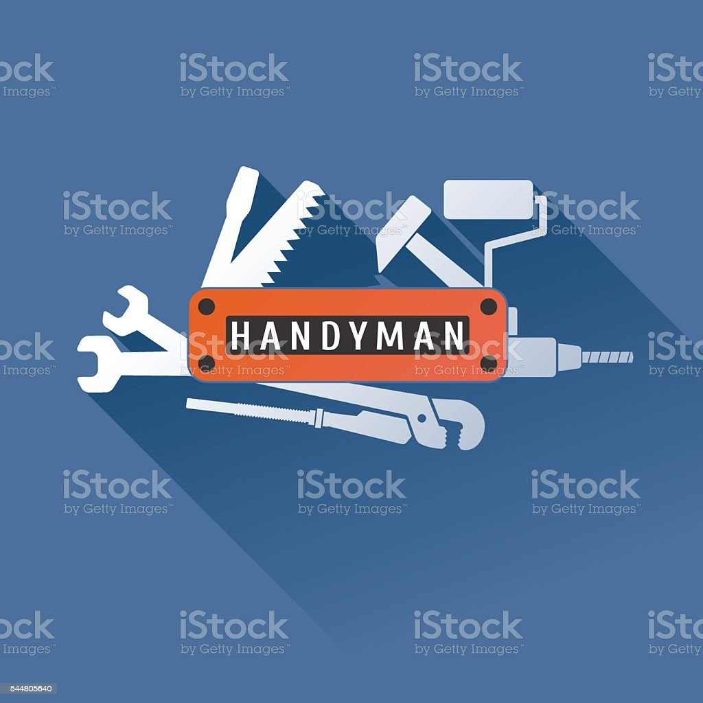 Home repair vector design element vector art illustration