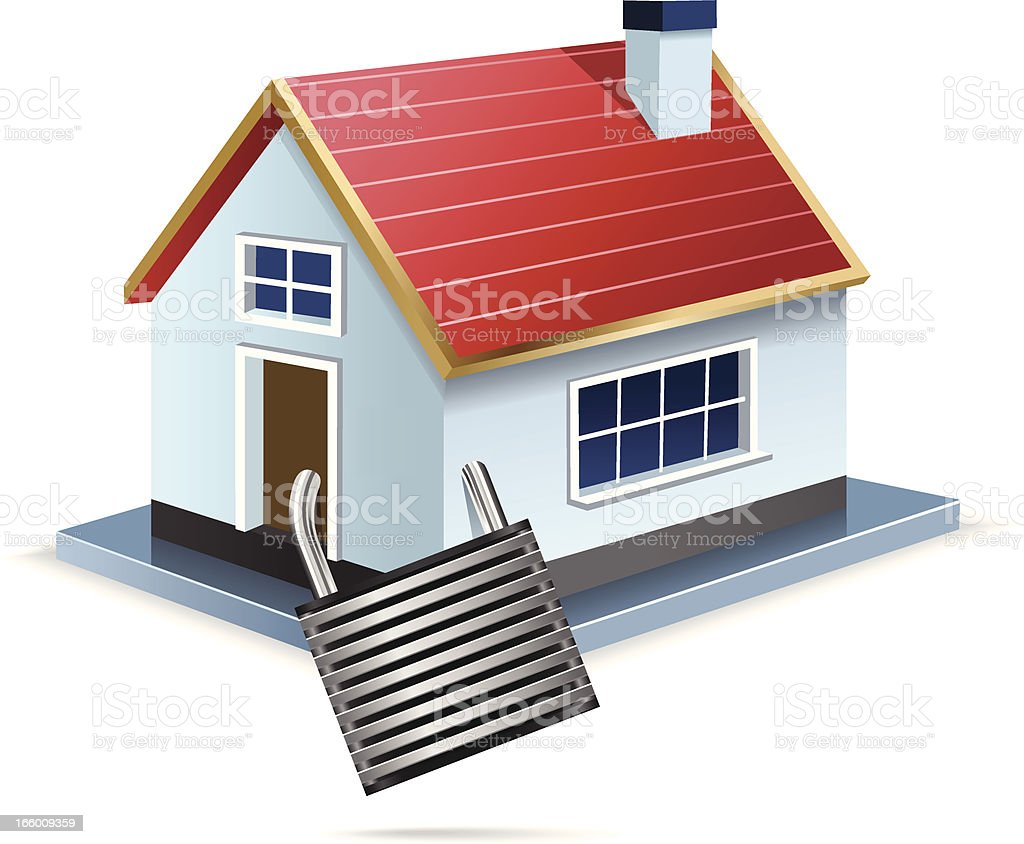 Home Security royalty-free stock vector art