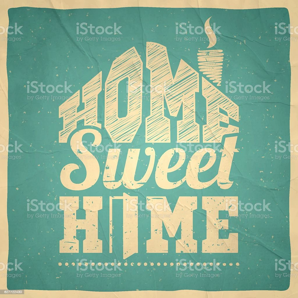 Home Sweet Home Vintage home sweet home frame clip art, vector images & illustrations - istock