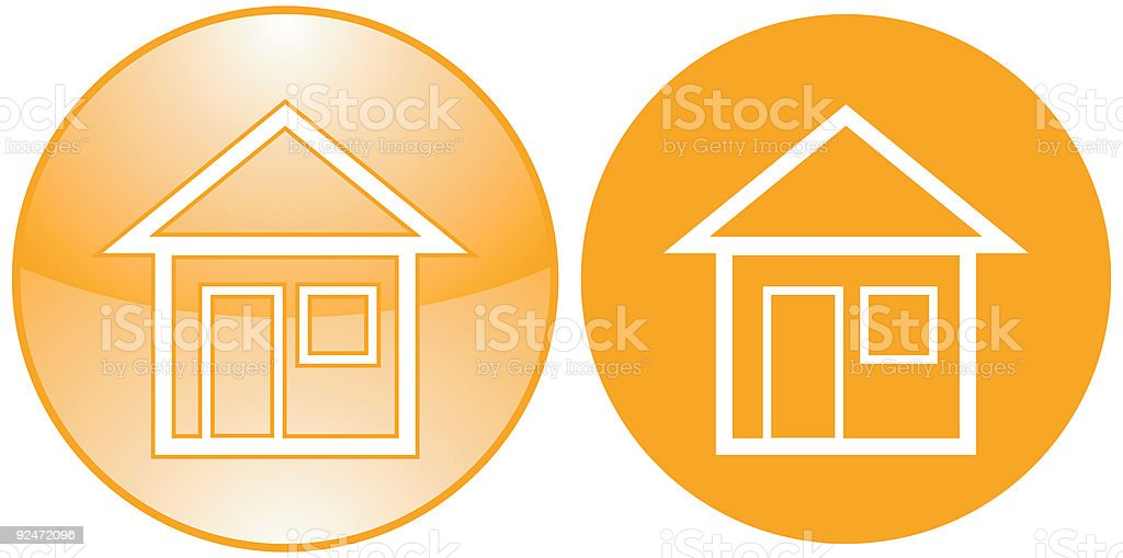 Home vector icons royalty-free stock vector art