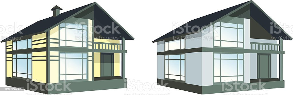 home royalty-free stock vector art