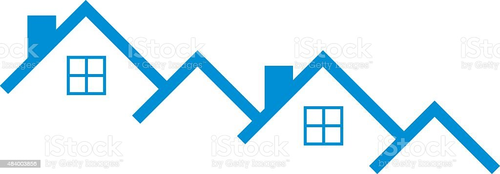 Homes Icon vector art illustration