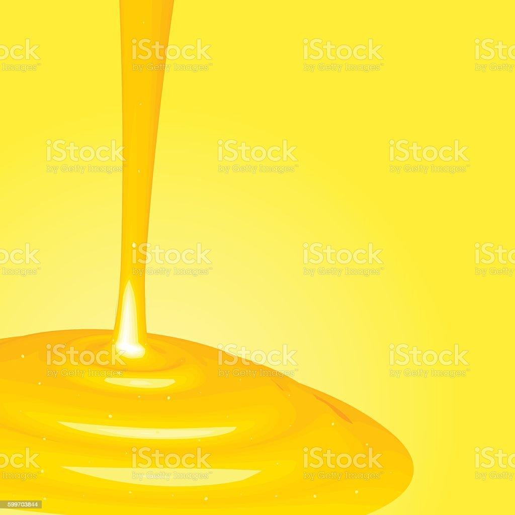 honey background illustration vector art illustration