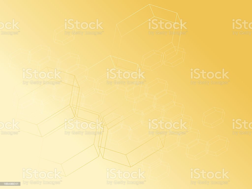 Honey background vector art illustration