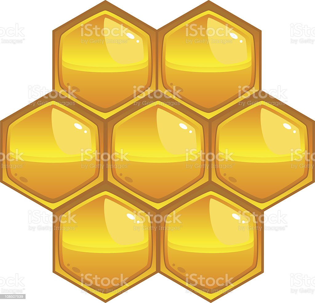 Honeycomb royalty-free stock vector art
