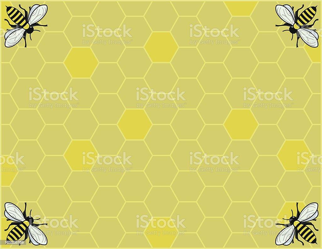 Honeycomb royalty-free stock vector art